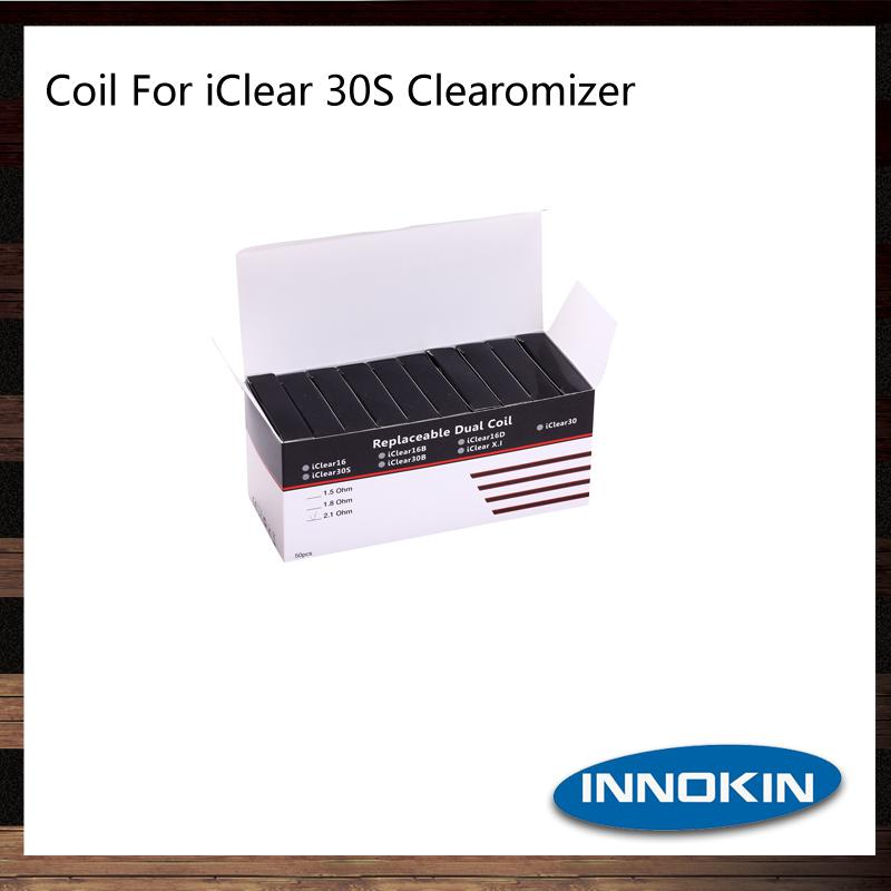 Innoikin Iclear 30S Doppelwendel Köpfe Clearomizer Innoikin Iclear 30S Zerstäuber Ersatz Dual Coils Heads