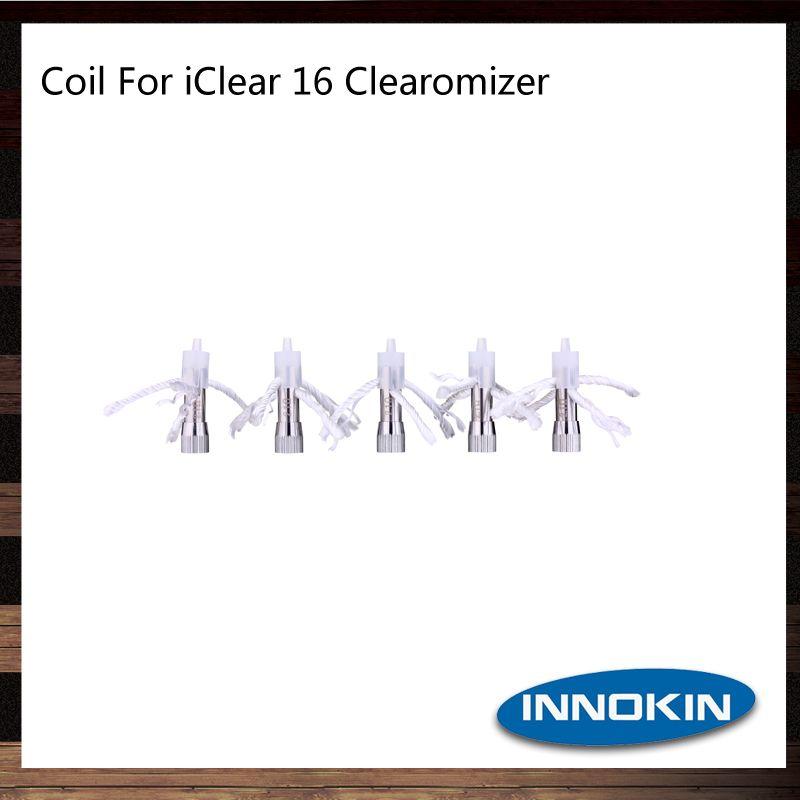 Innokin iClear 16 Spulenkopf 1,5 1,8 2,1 Ohm iClear 16 Ersatz-Doppelspulen 100% Original