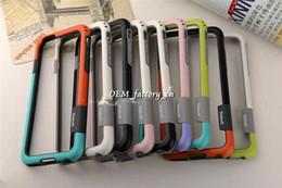 2019 casi di note4 Per iPhone 7 Walnutt Zenus Bumper Case 6s Anti-shock TPU PC Frame Protector per 7+ 6plus 5 5s SE Samsung S6 Edge S5 Note5 Note4 Note3 sconti casi di note4