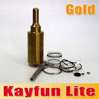 Wholesale Kayfun For Sale - Hot Sale !!! Kayfun Lite Atomizer High capacity Svoemesto Cartomizer Russian Stainless Steel for E cigarette Flavourful Vapour waitingyou