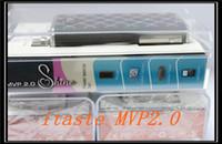 Wholesale Diamond Clearomizer - 2014 NEW itaste mvp shine iTaste MVP 2.0 Shine Edition full kit with warovski diamond iclear 16B Atomizer Clearomizer 2600mAh Battery E-Cig