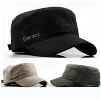 Wholesale Mens Newsboy Caps - Retail 2014 Mens Outdoor Military Hats   Element Army Hats & Caps