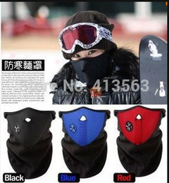 Wholesale New Ski Skull Mask - New Thermal Neck warmers Fleece Balaclavas CS Hat Headgear Winter Skiing Ear Windproof Warm Face Mask Motorcycle Bicycle Scarf