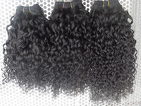 Brazilian Virgin Curly Human Hair Weft New Arrival Jerry Cur...