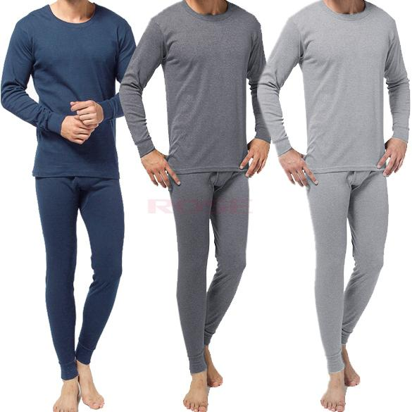 26c860b3ce4 2019 Autumn And Winter 2014 Men S Thermal Underwear Top And Bottom Male  Crew Neck Long Johns Long Sleeve Pajama Set 9027 From Abestbuy
