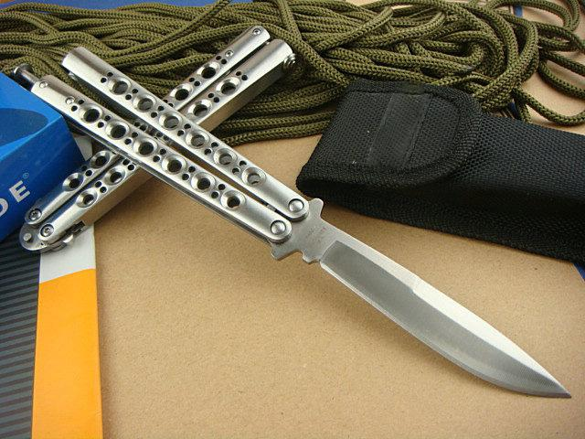 Promotion Butterfly Bm42 Knife Balisong Knife Titanium