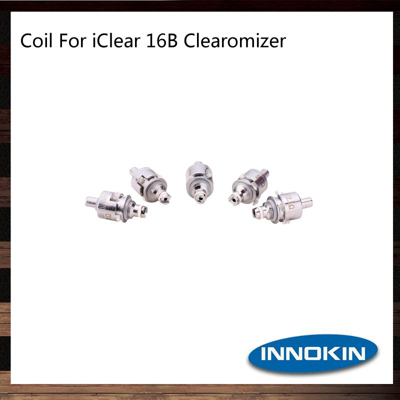 Innokin Replacement Dual Coils Head For iClear 16 iClear 16B 16D iClear 30 iClear 30B iClear 30S iClear X.I Clearomizer 100% Original
