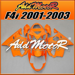 Wholesale Classic Fairings - Addmotor Injection Mold Fairing For Honda CBR600F4i CBR 600 F4i 2001 2002 2003 01 02 03 Classic Orange H6122+5 Free Gifts