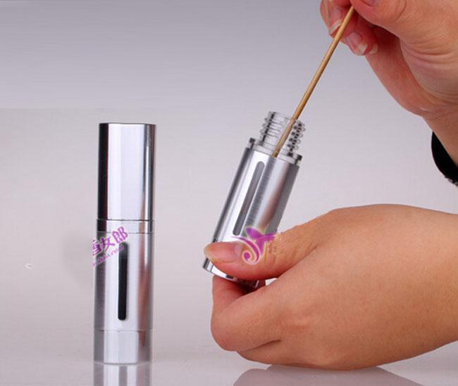 15ml /0.5oz de aluminio de metal Vacía recargable Airless Lotion Treatment Pump Botellas cosméticas 15ml /0.5oz Para imprimación de maquillaje, geles, lociones