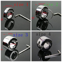 Wholesale Dragon Ring Cock - Stainless Steel Ball Stretcher Dragon Cock Rings Chastity Male Scrotum Bondage Device Adult Sex Toys Testicle Stretcher Ball Weight