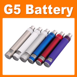Wholesale Ego Ce4 Battery Lcd - G5 Battery EGO 510 Thread Battery with LCD Display for CE4 CE5 CE6 VIVI NOVA Protank MT3 etc atomizer E-cigarette(0204041)