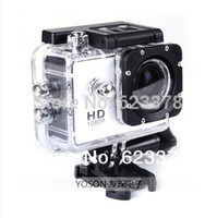 Wholesale Hero Flash Memory - NEW !! Gopro Hero 3 Style Full 1080P HD wide-angle Mini Sport Bicycle DV Camera+8G flashcard mini camcorders freeshipping