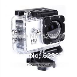 Wholesale Hero Flash Memory - NEW !! Gopro Hero 3 Style Full 1080P HD wide-angle Mini Sport Bicycle DV Camera+8G flashcard mini camcorders freeshipping