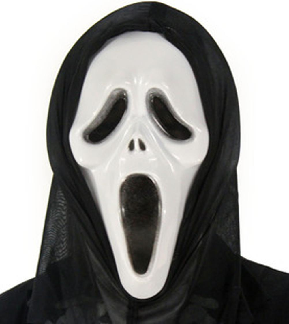 Halloween Mardi Gras Masquerade Party Scream Scary Movie Ghost ...