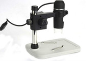 Wholesale Mini Portable Usb Microscope - 5MP 10x to 300x Mini Portable USB Digital Microscope Endoscope Otoscope Camera with LED with Lifting stand