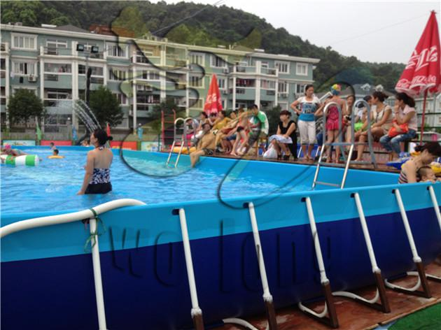 2019 Large Size Steel Frame Pool/Steel Frame Swimming Pool/Above ...