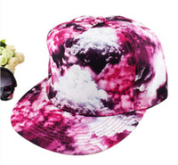 Summer Fashion Men and Women New Cool Dazzle Flat Hat Outer Sun Cap Hip-hop cap