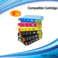 Wholesale Epson 633 - 12PK T1261-T1264 ink cartridge for NX330 430 Workforce 435 520 545 60 630 633 635 645 840 845 WF-3520 3540 WF-7010 7510 7520