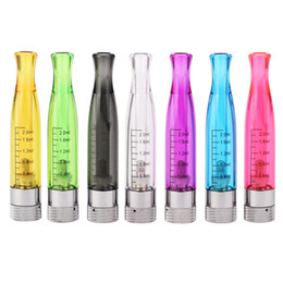 Wholesale Ego Colorfull - H2 Clearomizer atomizer E-Cigarette H2 Atomizer Replace CE4 Cartomizer all For eGo 510 batter series colorfull free shipping