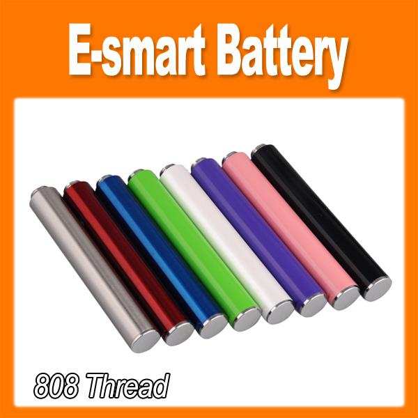 Mini EGO e smart e-smart 808 thread 320mah battery Suit for 808 thread atomizer e-smart electronic cigarette 0204032