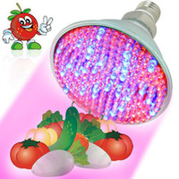 Wholesale Leds W - 2.2 3 4.5 W E27 Red Blue 38 60 80 led leds Hydroponic green house flower garden Light LED Plant Grow Growth Light Bulb Lamp Free Shipping