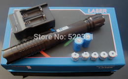 $enCountryForm.capitalKeyWord NZ - NEW high power blue laser pointers 200000m 450nm Lazer Beam Military Flashlight Hunting+5 caps+ charger for free +gift box