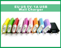 5V 1000mah Color EU US Plug USB Wall Charger AC Power Adapte...