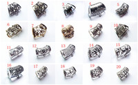 Wholesale Diy Scarves - 12PCS LOT Hot Fashion DIY Jewellery Scarf Pendant New Style Mental Alloy Hollow Out Charm Slide Holding Tube Bails Free Shipping