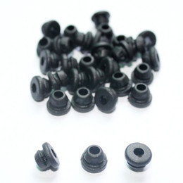 Wholesale Price x Black TATTOO Needle Rubber Grommets Nipples for tattoo machine gun needles supply