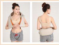 Hot selling New Shiatsu Neck Shoulder Massager Body Massage Relaxation Strap Device
