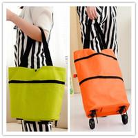 shopping bags solid casual back shopping cart portable tug hanging bags handbag variable