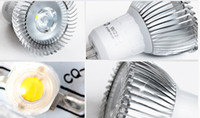 Wholesale led mr11 5w - Hot selling LED lamp cup GU10 220V 12V 85-265v 3W 5W MR16 GU5.3 E27 spolight
