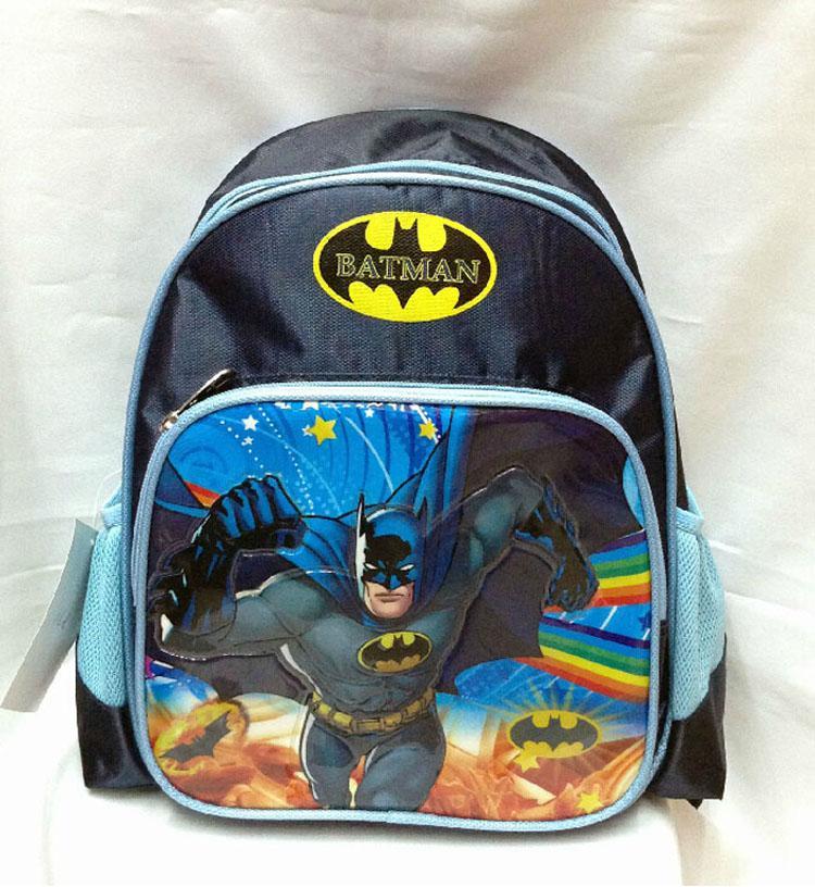 Cartoon Anime Batman 33*23*10cm Super Hero Batman Backpack School ...