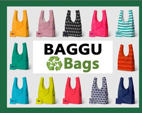 Baggu Tote Bags Candy Colors Reusable Shopping Bag Portable ...