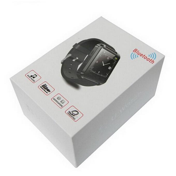 U8 Bluetooth Smart Watch U Orologi Touch da polso da polso Smartwatch iPhone 4 4S 5 5S Samsung S4 S5 Note 3 HTC Smartphone da telefono Android