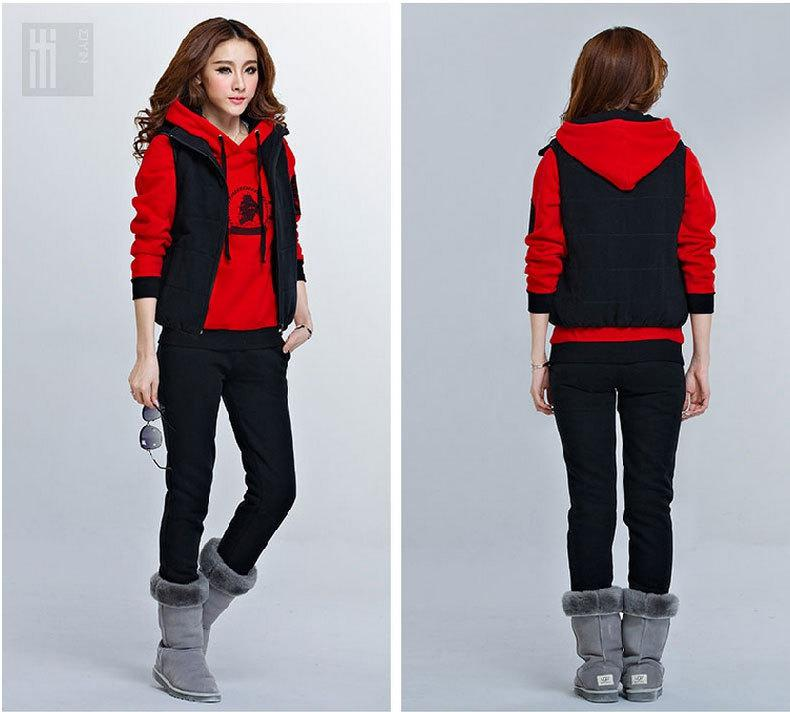 2016 2014 New Fashion Sweatshirt Women Hoody Sport Suit Women ...