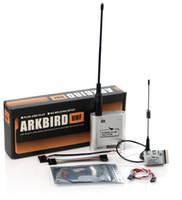 verici alıcı sistemi toptan satış-ARKBIRD 10CH 433 UHF Uzun menzilli FHSS Kontrol Sistemi Verici ve Alıcı Futaba Futaba WLFY FPV için Set