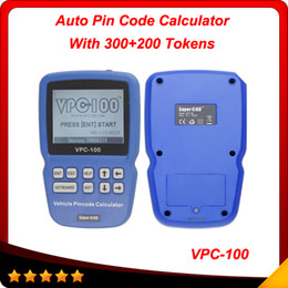 Wholesale New Vpc - 2014 New design VPC-100 pin code calculator the world's first Hand-held vehicle pincode calculator support most of cars free shipping