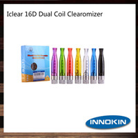 Wholesale iclear 16d clearomizer for sale - Group buy Innokin iClear D Bottom Dual Coil BDC Atomizer ml iClear D Clearomizer Authentic