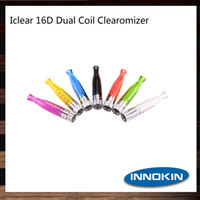 Wholesale iclear 16d clearomizer resale online - Innokin iClear D Clearomizer ML Rebuildable Bottom Dual Coil iClear D Atomizer Original