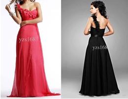 Wholesale Sweetheart Aline Prom - aline one shoulder zipper back pink sweetheart neckline prom dress