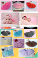 Cheap Classic Newborn tutu Best Photography Solid baby photography skirt