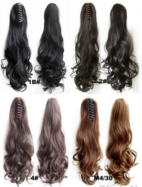 Easy clip in ponytail hair piece hair extension synthetic long easy clip in ponytail hair piece hair extension synthetic long curlywavy hair ponytails hairpieces 22 inch 120g curly hair ponytail styles ponytail style pmusecretfo Choice Image