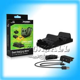Nuevo 2pcs controlador de alta calidad USB recargable juego y cargador de batería de carga Kit para XBOX ONE controladores envío gratis desde fabricantes