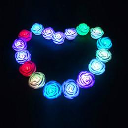 Simülasyon Gül Lamba Asla Fade Çiçek Gül Şekli LED gece Lambası Mükemmel Romantik sevgilisi Hediye Noel Dekorasyon nereden kristal dönen led tabanlı tedarikçiler