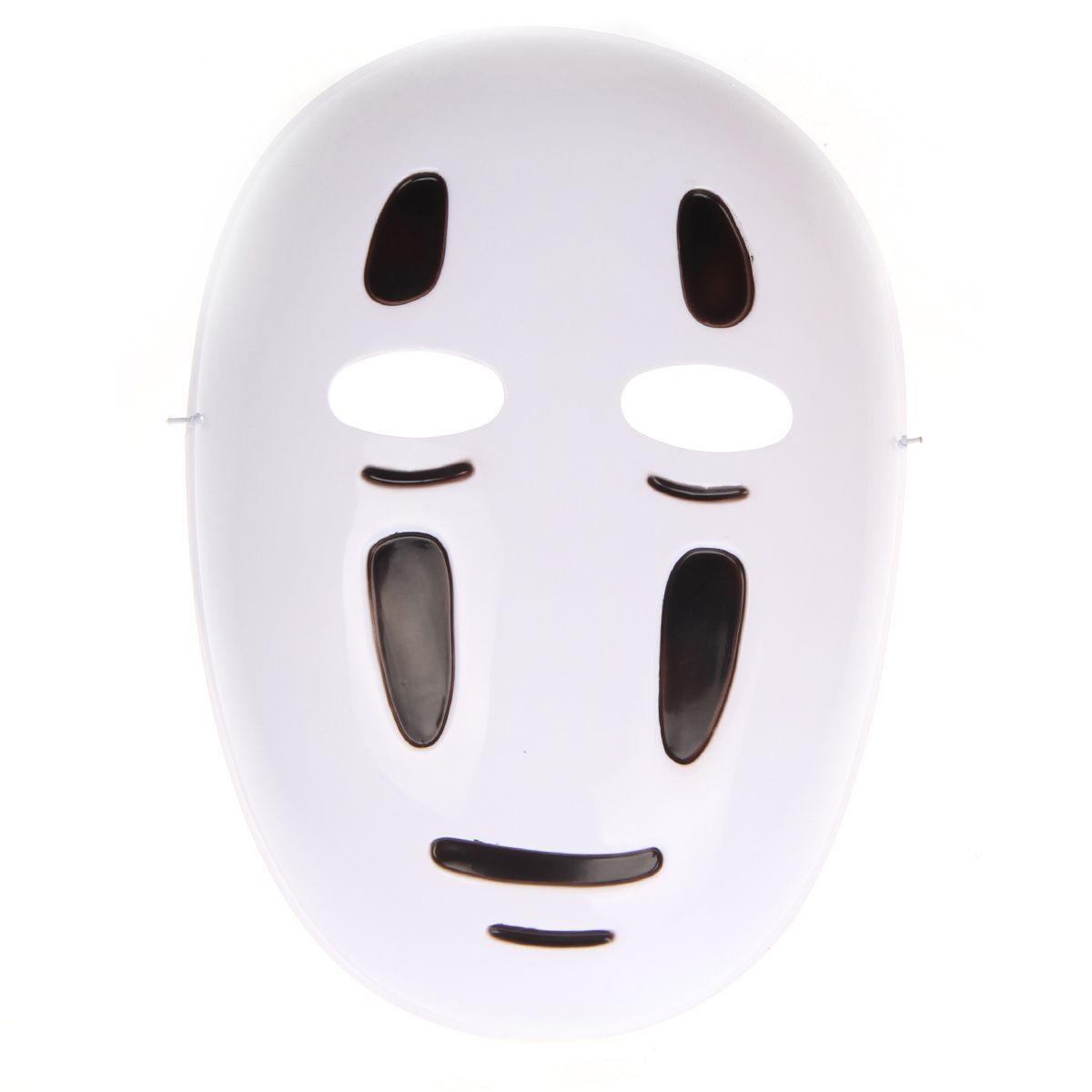 Japanese White Anime Spirited Away Mask Ghost Mask New Pvc Materia ...