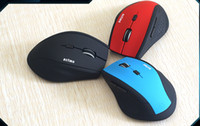 Wholesale Moving Mouse - T9 move extravagant gaming mouse 2.4G wireless mouse laptop mouse 6D lovely muted power