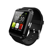 Wholesale smart watch samsung note resale online - Bluetooth Smartwatch U8 Smart Watch Phone Mate Wrist Touch Watches for iPhone Samsung Note HTC Android Phone Smartphone