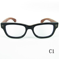 brand retro glasses rosewood leg men women eyeglasses lens fashion goggles handmade optical eyewear case cloth custom myopia case cloth 7075