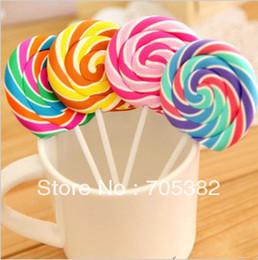 Venta al por mayor de Borradores de Lollipop de novedad, Candy Funny Rubber Eraser, OfficeStudy Kids Gifts, papelería de lindo (SS-1047)